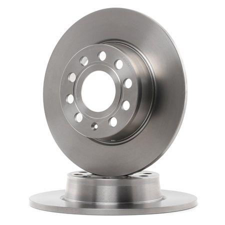 Bremsscheibe Bremsscheibendicke: 9,7mm, Lochanzahl: 9, Ø: 272,0mm mit OEM-Nummer 1K0.615.601AA