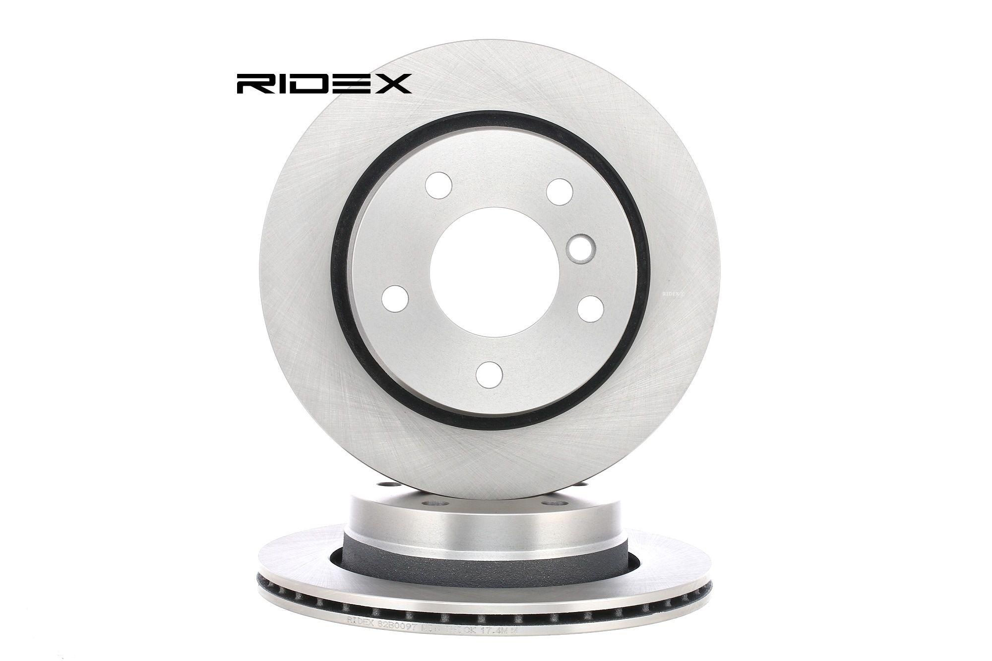 Scheibenbremsen RIDEX 82B0097 Bewertung