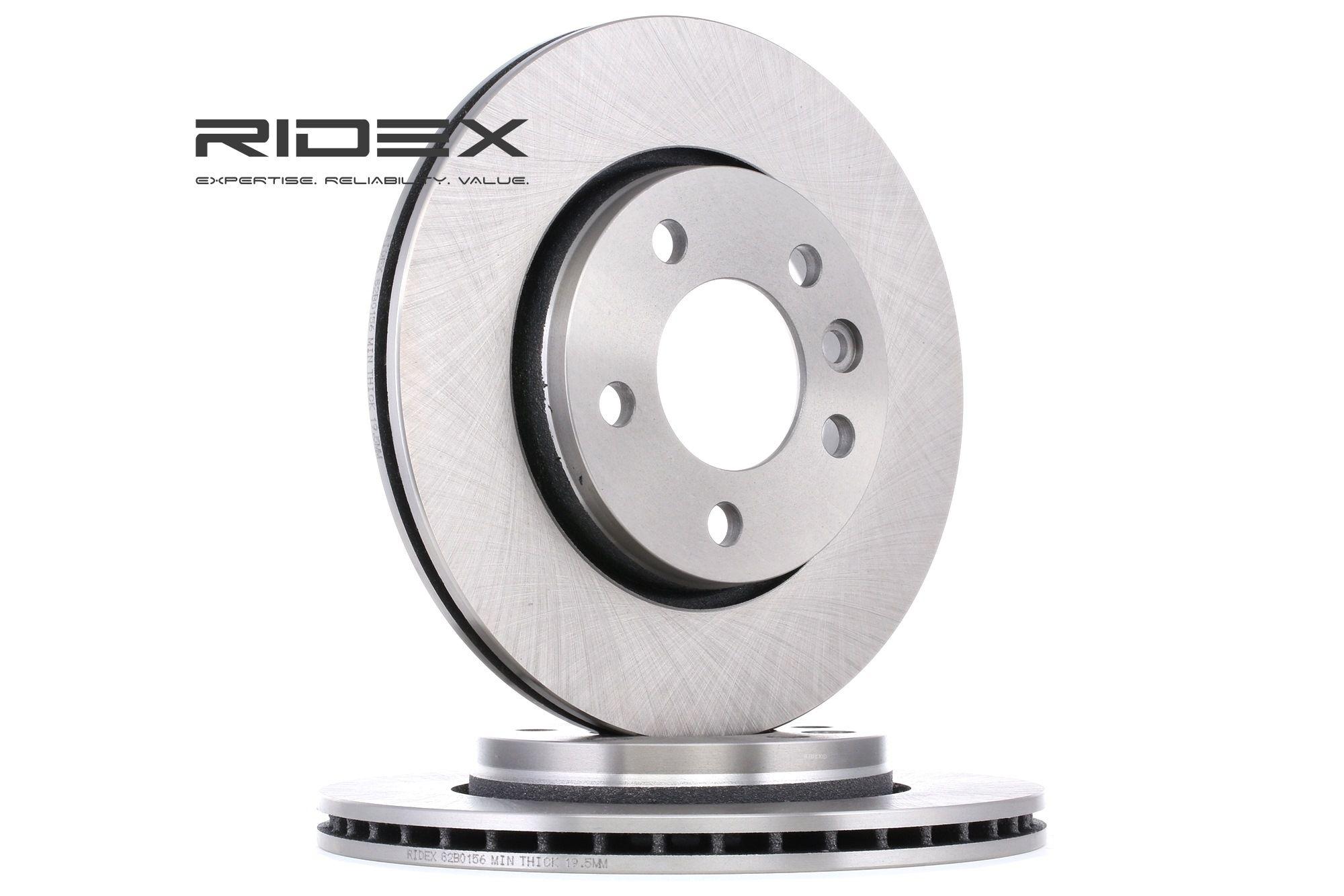Scheibenbremsen RIDEX 82B0156 Bewertung