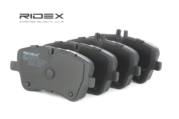 RIDEX 402B0056 Bremsekloss