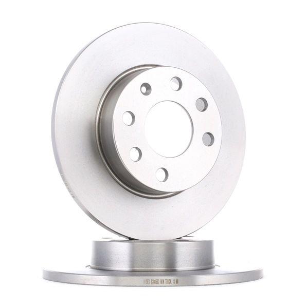 RIDEX Disco de travão 82B0682 com códigos OEM 569030