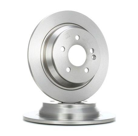 Frenos de disco RIDEX 7999218 Eje trasero, Macizo, sin buje de rueda, sin perno de sujeción de rueda