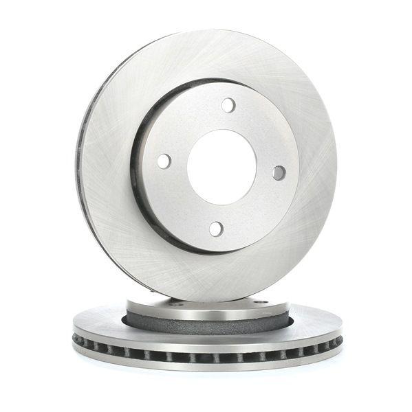 RIDEX Brzdový kotouč přední osa, vnitřně ventilováno