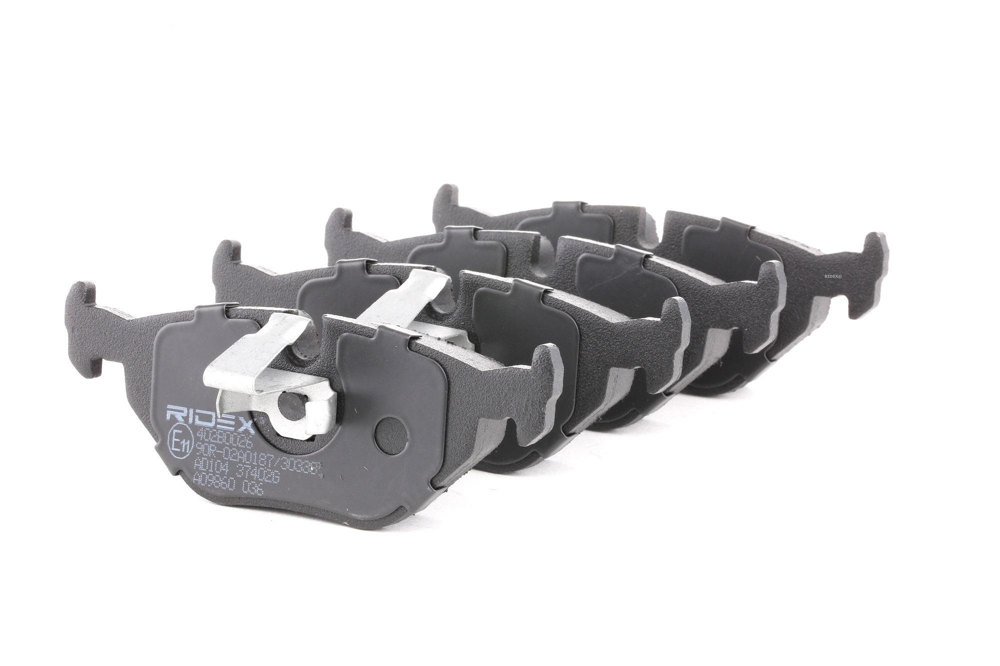 Bremsbelagsatz RIDEX 402B0026 Bewertung