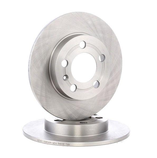 OEM Bremsscheibe von RIDEX (Art. Nr. 82B0691)