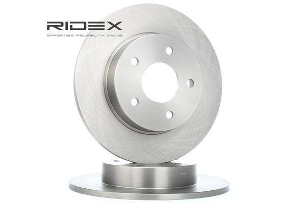 RIDEX 82B0107 Tarcza hamulcowa