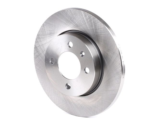 Brake discs and rotors RIDEX 7999386 Front Axle, Solid, without wheel hub, without wheel studs