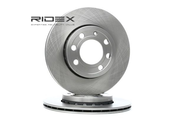 Brake discs and rotors RIDEX 7999396 Front Axle, Vented