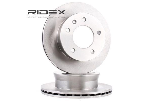 RIDEX Vorderachse, Innenbelüftet 82B0234