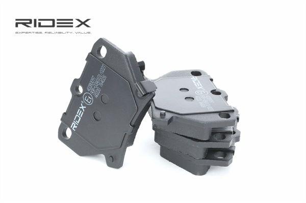 RIDEX 402B0097 Bremsekloss