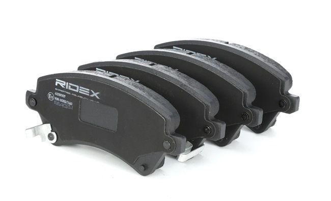 комплект спирачно феродо, дискови спирачки TOYOTA | RIDEX Артикул №: 402B0107