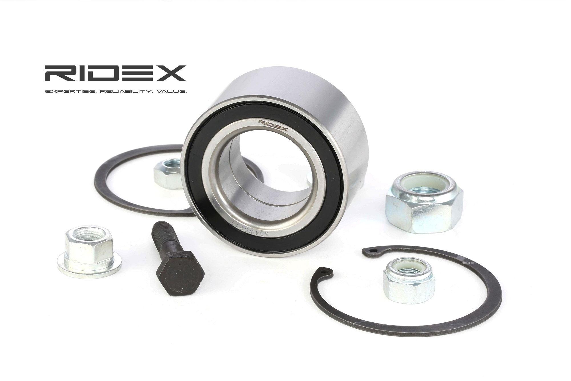 Radlager & Radlagersatz RIDEX 654W0011 Bewertung