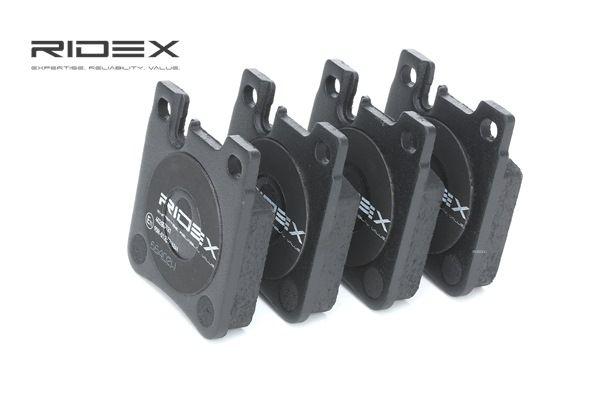 RIDEX 402B0121 Remblokkenset schijfrem