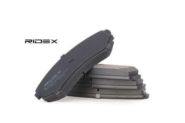 Juego de pastillas de freno RIDEX 7999711 Eje delantero, con avisador acústico de desgaste