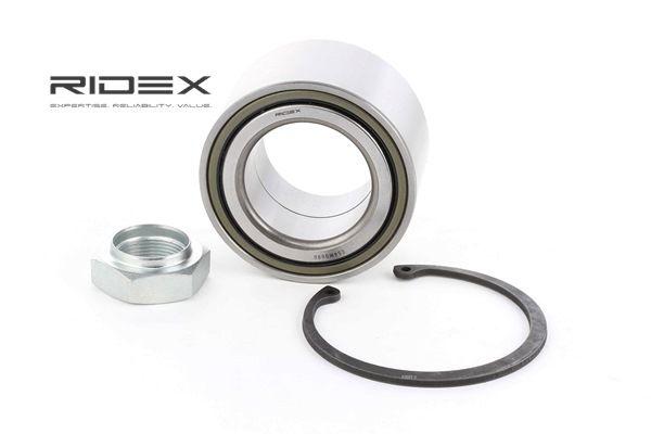 RIDEX Hjullejesæt 654W0090 med OEM Nummer 1347527080
