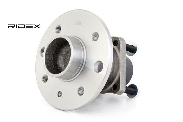 Rodamiento de rueda RIDEX 7999813 Eje trasero, con cojinete rueda incorporado