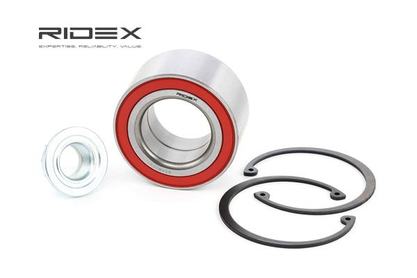 Wheel hub RIDEX 7999827 Front axle both sides, without ABS sensor ring