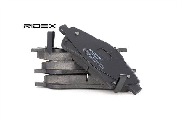 RIDEX 402B0459 Bremsekloss