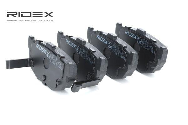 OEM Bremsbelagsatz, Scheibenbremse RIDEX 7999859 für HYUNDAI