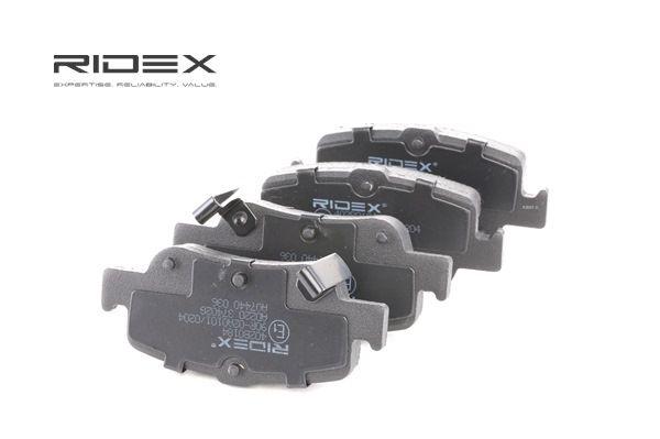 комплект спирачно феродо, дискови спирачки LEXUS | RIDEX Артикул №: 402B0184