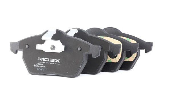 RIDEX 402B0249 Bremsekloss