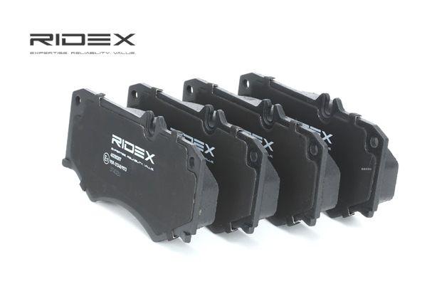 RIDEX Vorderachse, für Verschleißwarnanzeiger vorbereitet 402B0207