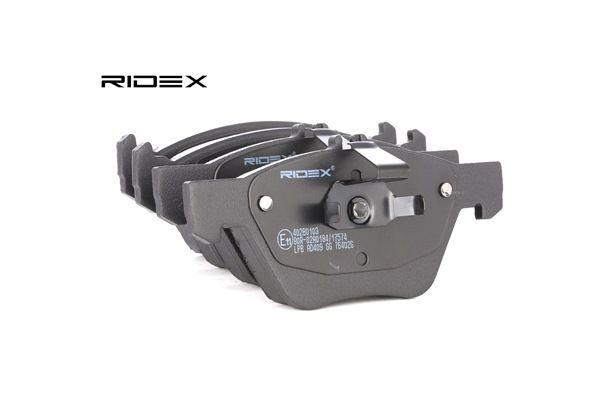 RIDEX 402B0103 Remblokkenset schijfrem