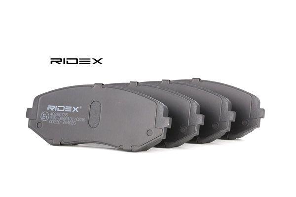 RIDEX 402B0735 Bremsekloss