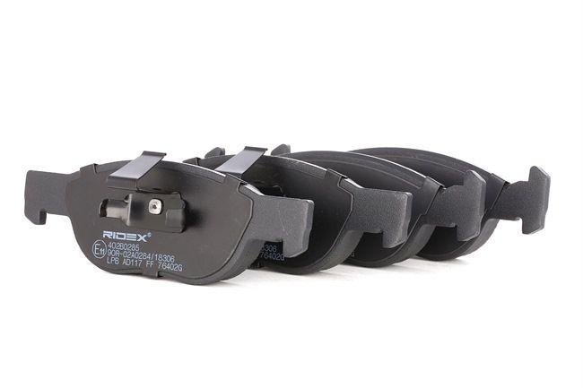 Brake Pad Set, disc brake 402B0285 PUNTO (188) 1.2 16V 80 MY 2004