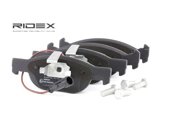 Brake Pad Set, disc brake 402B0335 PUNTO (188) 1.2 16V 80 MY 2004