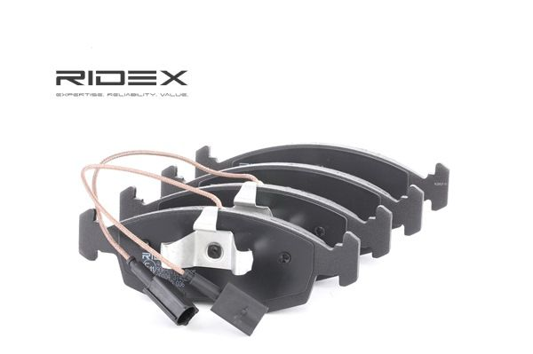 RIDEX 402B0635 Bremsekloss