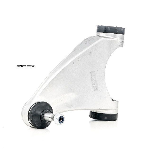 RIDEX Braccio sospensione ALFA ROMEO Assale anteriore, Sx, Superiore, Alluminio, Braccio trasversale oscillante