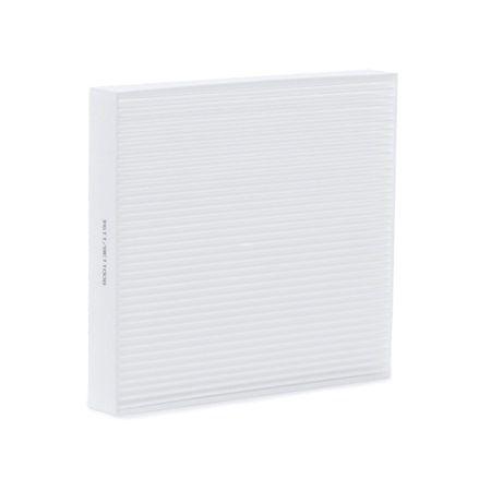 Cabin filter RIDEX 8001138 Filter Insert, Particulate Filter, Pollen Filter