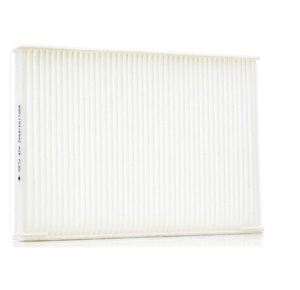 Cabin filter RIDEX 8001193 Pollen Filter