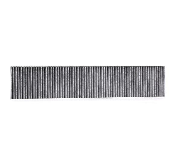 Filter, Innenraumluft Länge: 542mm, Breite: 110mm, Höhe: 25mm mit OEM-Nummer 1491 752