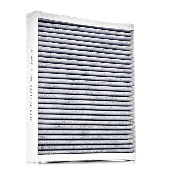 Filtro de aire acondicionado RIDEX 8001479 Filtro de carbón activado