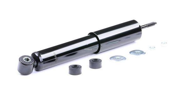 Amortiguador RIDEX 8001706 Eje delantero, Presión de gas, Amortiguador telescópico, Anillo inferior, Espiga arriba