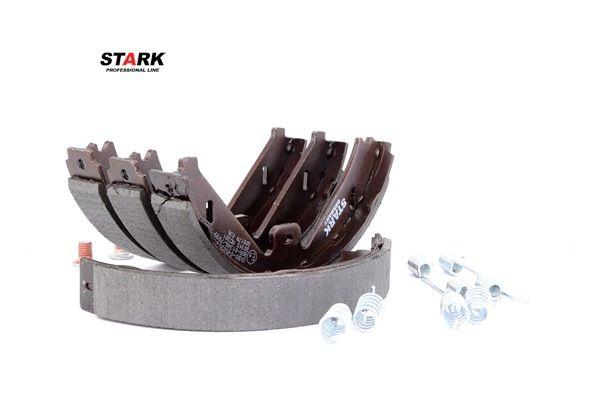 STARK Hinterachse, Ø: 180mm, с аксессуарами, mit Anschlussteilen SKBS0450204