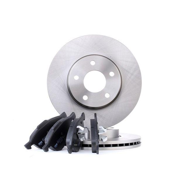 Bremsensatz, Scheibenbremse Bremsscheibendicke: 25mm, 18,1mm mit OEM-Nummer 3 071 502-3