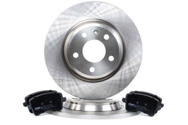 Bremsensatz, Scheibenbremse Bremsscheibendicke: 12mm mit OEM-Nummer 8P0 098 601 P