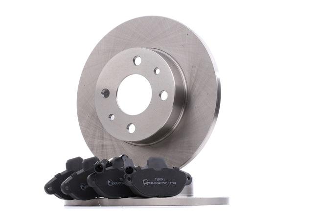 Brake Set, disc brakes SKBK-1090041 PANDA (169) 1.2 MY 2015
