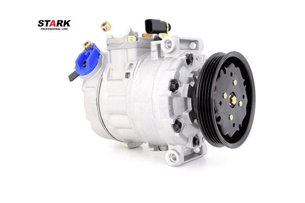 Compresor, aire acondicionado Polea Ø: 110mm, Número de canales: 4 con OEM número 4B0 260 805G