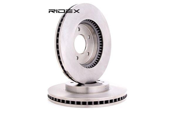 RIDEX Vorderachse, Innenbelüftet, ohne Radbefestigungsbolzen, ohne Radnabe 82B0407