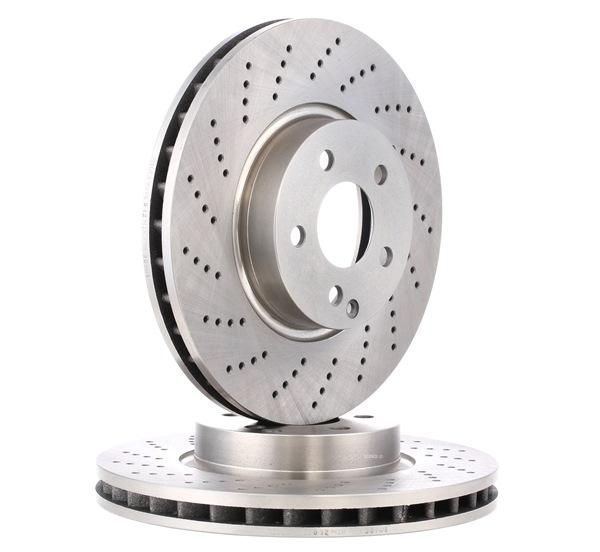 Disco freno Spessore disco freno: 32,0mm, Ø: 322,0mm con OEM Numero 2044211012