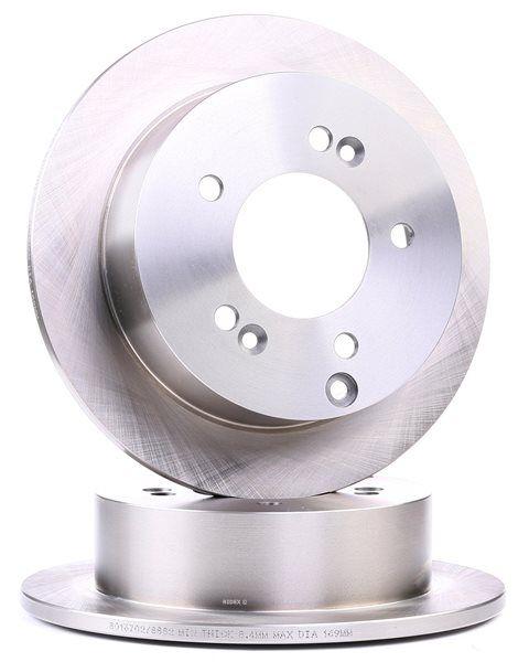 RIDEX 82B0242 Disc brake set