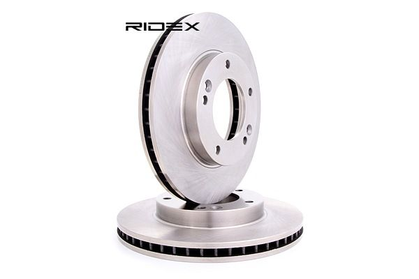Brake discs and rotors RIDEX 8013703 Front Axle, Internally Vented, without wheel hub, without wheel studs