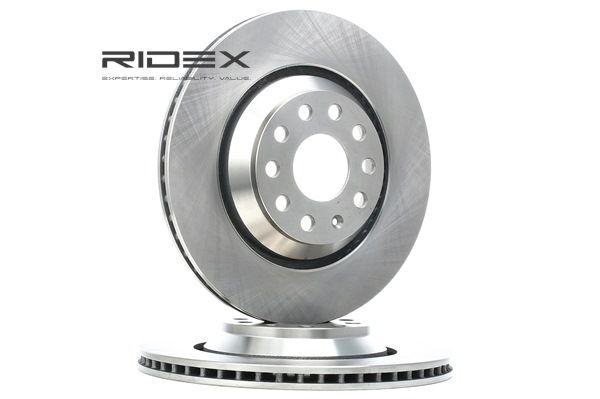 Golf 5 1.4 16V Bremsscheiben RIDEX 82B0364 (1.4 16V Benzin 2008 BUD)