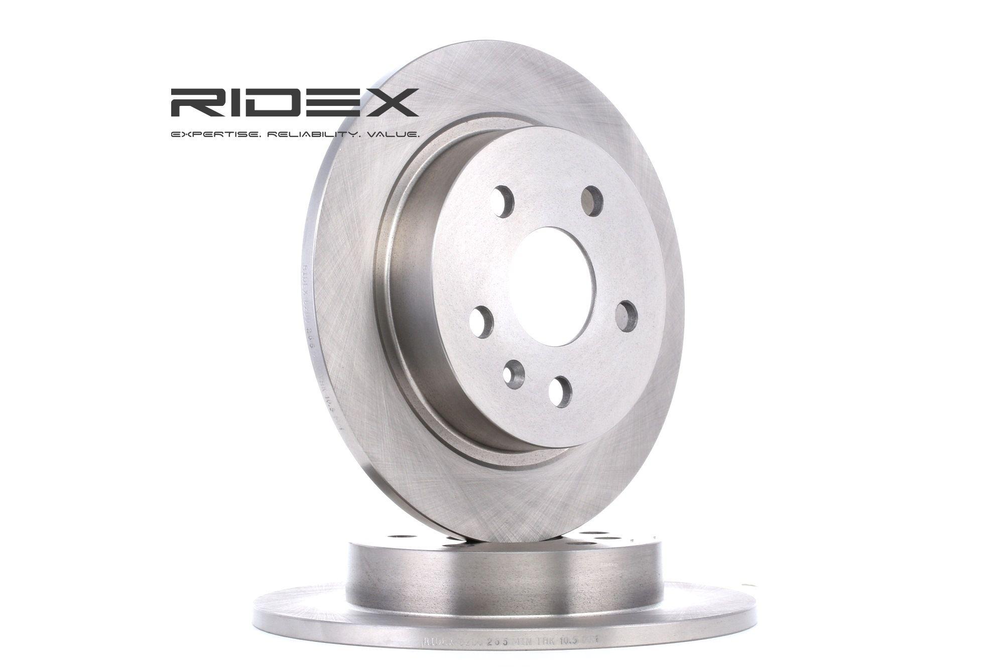 Brake Rotors RIDEX 82B0265 rating