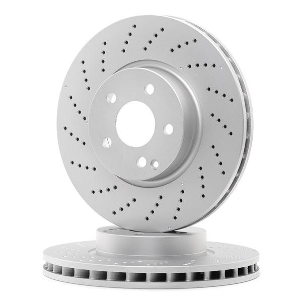 Disco freno Spessore disco freno: 32mm, N° fori: 5, Ø: 322mm con OEM Numero 204.421.10.12