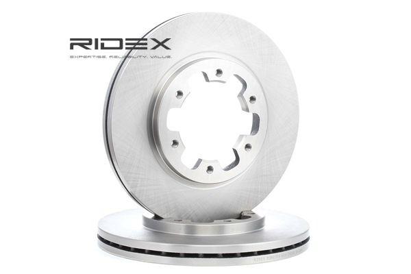 RIDEX 82B0256 Discos de freno